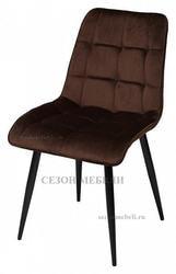 Стул CHIC шоколадный, велюр G062-10