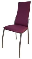 Стул Галс каркас хром/ткань №53 фиолетовая