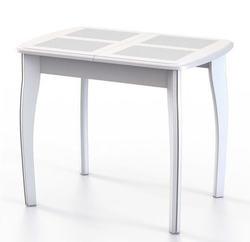 Стол Домино-1 МР белое дерево/домино белый