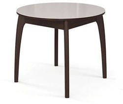 Стол №46 ДН4 венге/стекло белое
