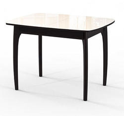 Стол №40 ДН4 венге/стекло бежевое