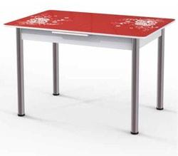 Стол Грация (с микролифтом) красный