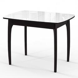 Стол №40 ДН4 венге/стекло белое