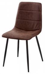 Стул COACH-L GW-12 коричневый винтажный, ткань