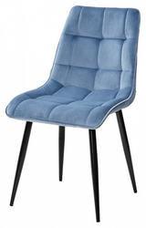 Стул CHIC G108-56 пудровый синий, велюр