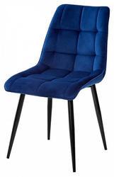 Стул CHIC G108-67 глубокий синий, велюр