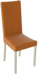 Стул Ромео (Слоновая кость/ тк №38 Оранжевый/Orange)