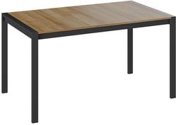Стол обеденный Ванкувер тип 1 (Черный/ Ривьера)