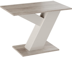Стол обеденный Рейн Тип 1 (Фон бежевый/ Дуб сонома трюфель)