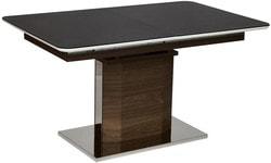 Стол Radcliffe (mod. EDT-VG002) Коричневый, стекло черное